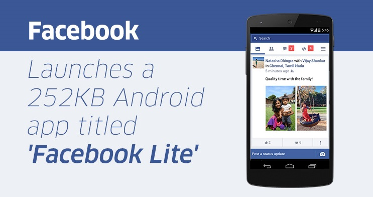 Facebook Lite App for Android