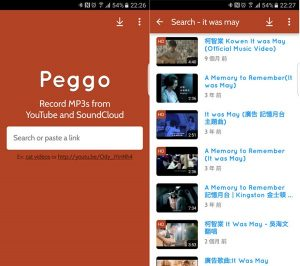 Peggo App – YouTube to MP3 Converter for Android Download