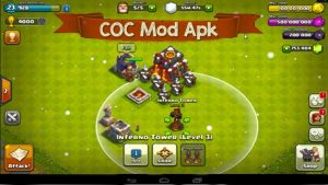 Clash of clans Mod APK Download | COC Hack Apk Unlimited coins, Gems